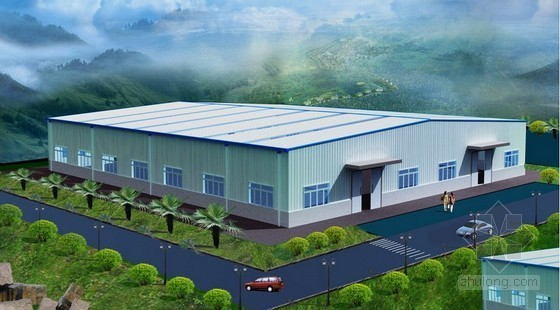 [毕业设计]四川某钢结构厂房土建工程量清单及招标控制价编制实例(含广联达软件应用)
