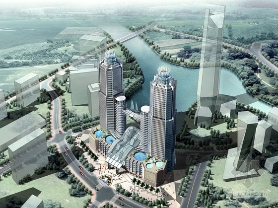 [浙江]现代风格商业综合体规划及单体设计方案文本(含CAD 知名设计)