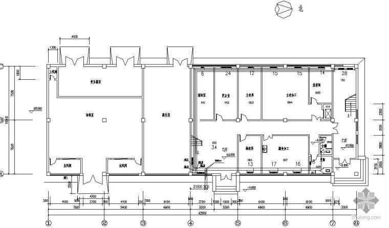 哈尔滨某工厂宿舍楼供热工程课程设计
