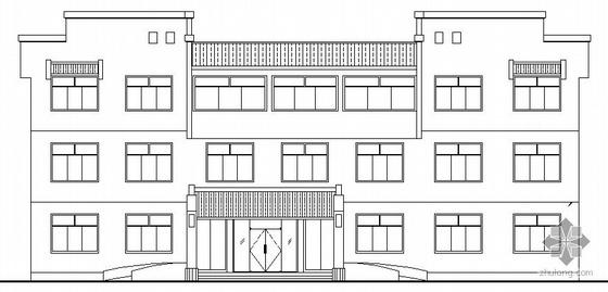某工业企业厂房及综合楼建筑结构水电施工图