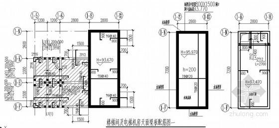 高层住宅屋顶构造节点详图