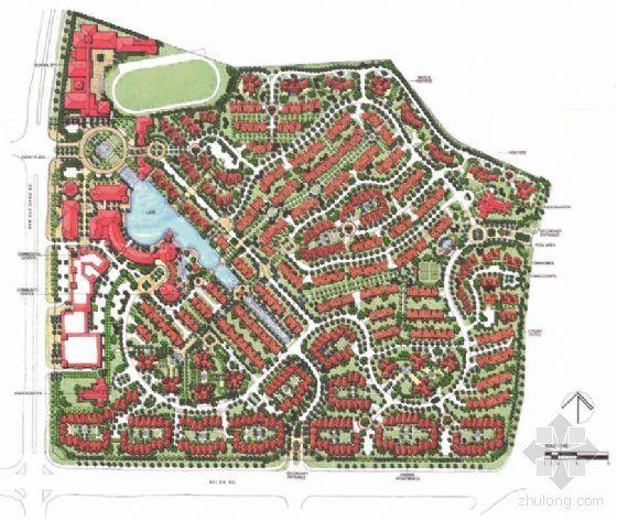 [深圳]住宅区景观规划方案设计