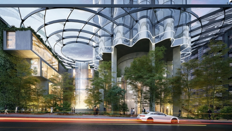 Federal街65号——模拟自然景观的摩天大楼_5