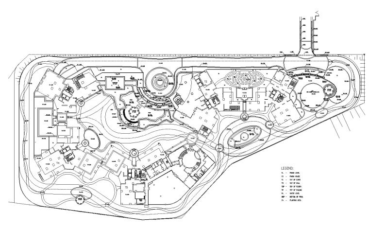 [广东]深圳卢峰翠苑全套居住区景观设计CAD施工图