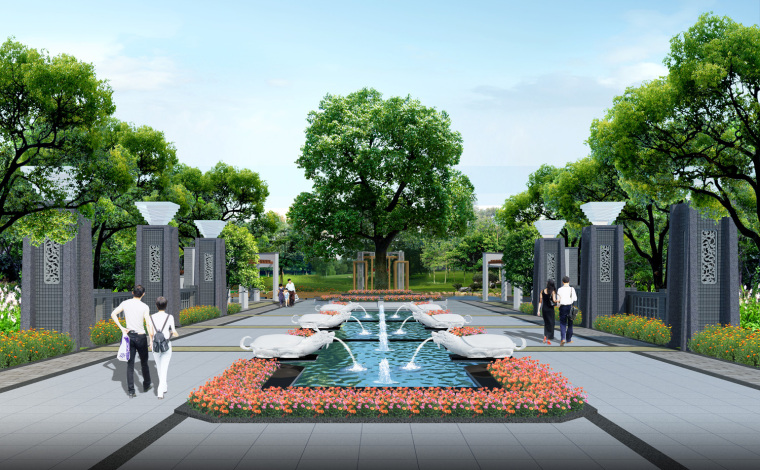 园林-花池图集