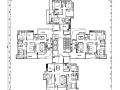 深圳某小区住宅楼su模型+cad平面图+效果方案