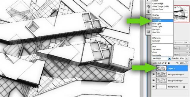 干货 SketchUp+photoshop快速渲染制作建筑景观效果图教程_12