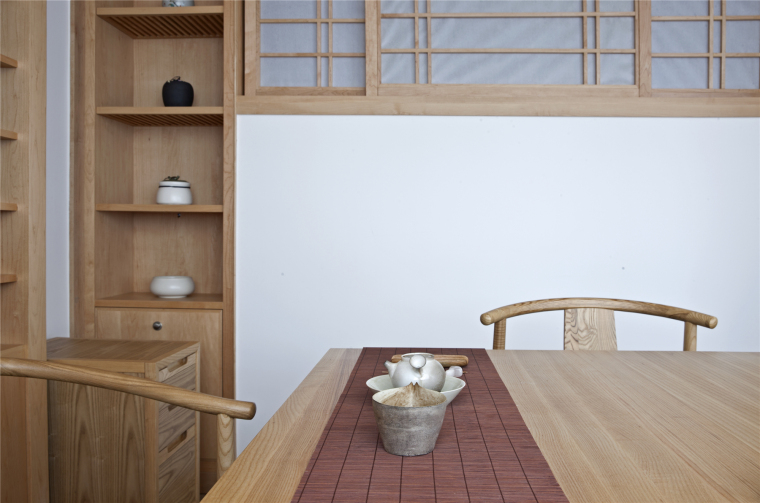 简单自然的中式风格住宅室内实景图 (33)