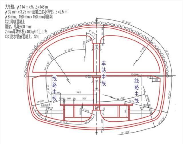 基于BIM的地铁隧道超近间距CRD法施工4D仿真_2