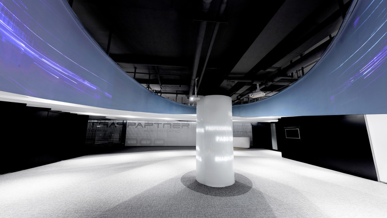 武汉Pinwell创意办公展厅-7