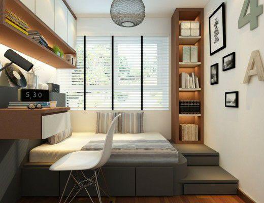 榻榻米床+柜子如何组合设计?35个案例告诉你..._29