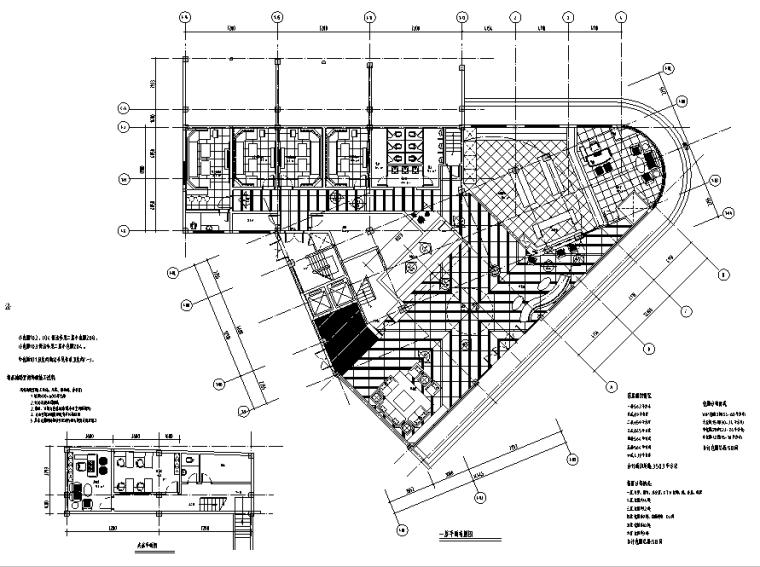 现代大型自助式KTV空间施工图(附效果图)