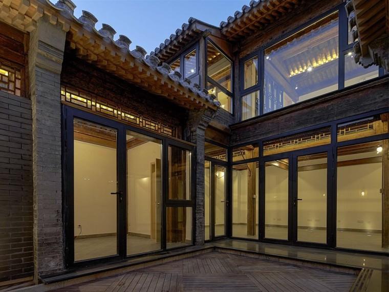 北京前门长巷三条合院改造