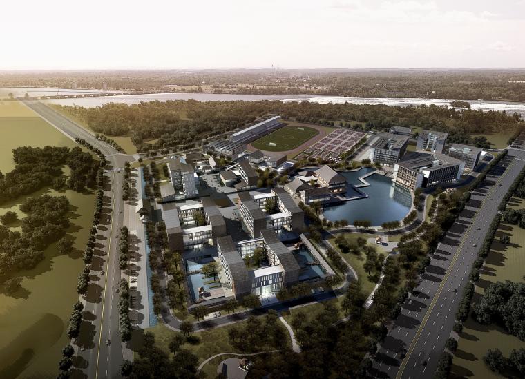 [湖南]长沙中式小学规划及建筑设计方案文本(含文本效果图)