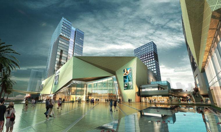 [福建]福州阳光城大都会商业综合体建筑设计
