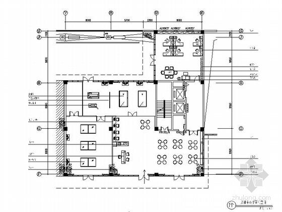 [原创]现代风格文体中心室内装修图