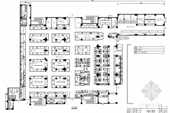 [南京]成熟社区中心大型便民综合菜市场室内装修图(含效果图)