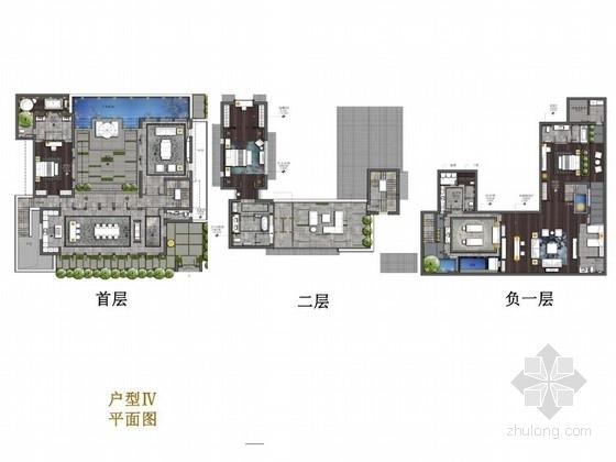 [丽江]优雅精致新中式两层别墅设计方案