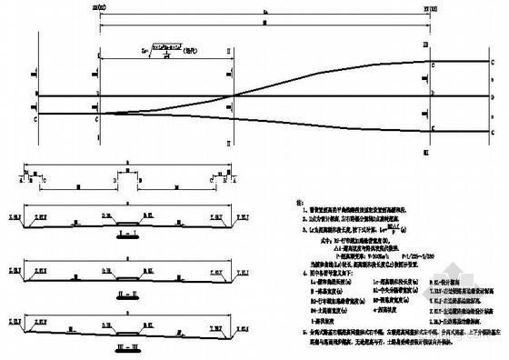 道路超高方式节点设计图
