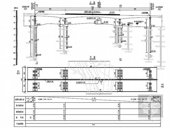 [地标建筑]双钻石塔5跨PK钢箱梁连续斜拉桥长江大桥施工图2648张(桥宽41米)