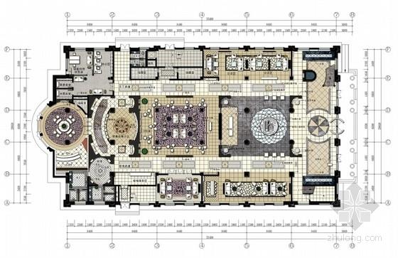 [包头]知名建筑设计院设计豪华售楼处概念方案(含效果图与设计构思手稿)