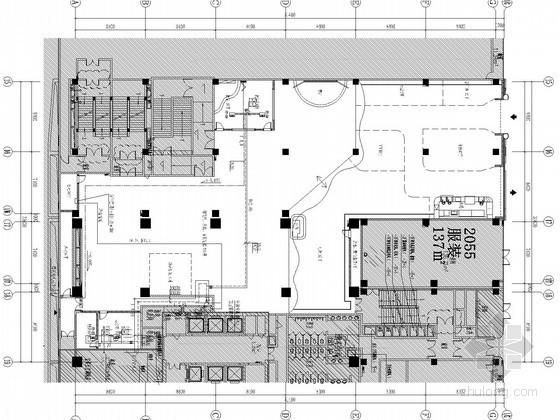 [江苏]文娱建筑空调通风及防排烟系统设计施工图