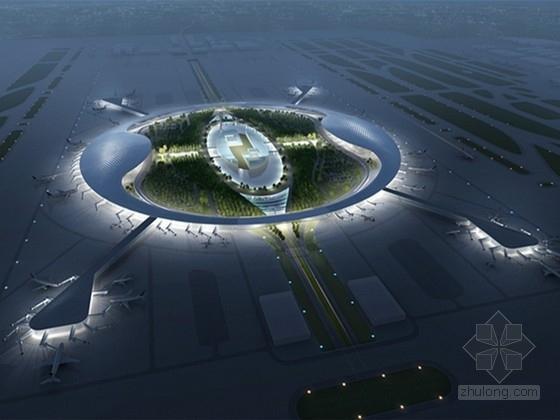[广西]城市综合体式国际机场航站楼建筑设计方案文本