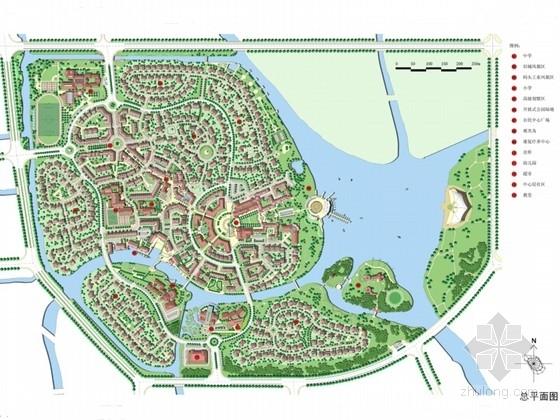 [上海]滨江英式居住区景观方案设计