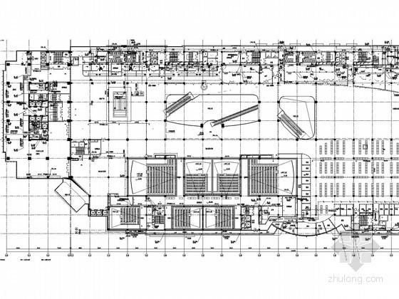 [河北]大型商业办公综合体给排水消防施工图(虹吸雨水)