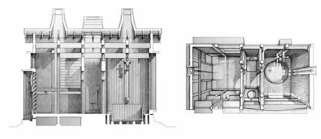 他放出了封存多年最杰出的建筑图纸_4