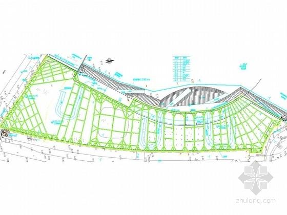 [广东]21米深基坑地下连续墙锚索加三道内支撑支护施工图(环境复杂  地下水丰富)
