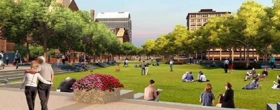 [罗斯肯尼]滨水码头地区公园景观规划设计方案(英文方案)-景观效果图