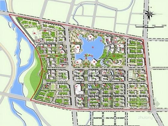 [内蒙古]复合功能可持续都市活力核心区景观规划设计方案