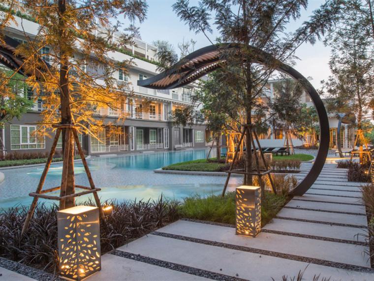 泰国秋季公寓楼小区_1