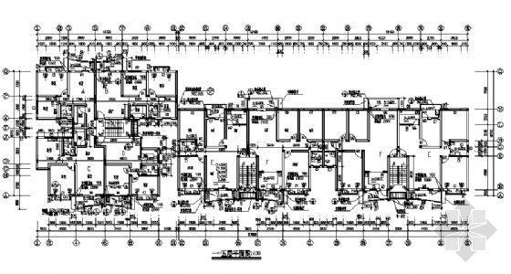 小区某八层住宅建筑施工图-3