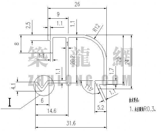 泰丰型材TFC-020