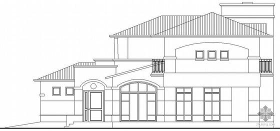 某二层别墅建筑施工图