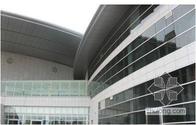 大面积、多形式玻璃幕墙施工技术