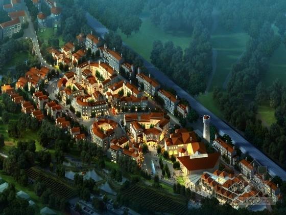 [河北]欧式浪漫小镇景观规划设计方案