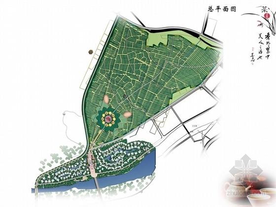 [四川]茶马古镇茶文化农业观光园总体规划方案(附设计说明和CAD底图)