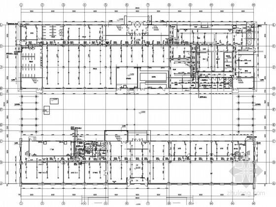[辽宁]汽车工厂给排水消防施工图(热气溶胶 太阳能)