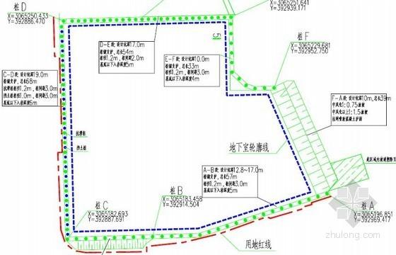 [貴州]19米深基坑排樁式預應力錨索擋墻支護施工組織設計