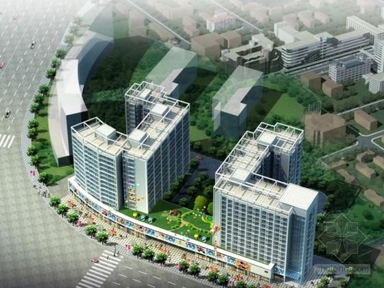 [湖南]某中高档住宅区规划及单体设计方案文本