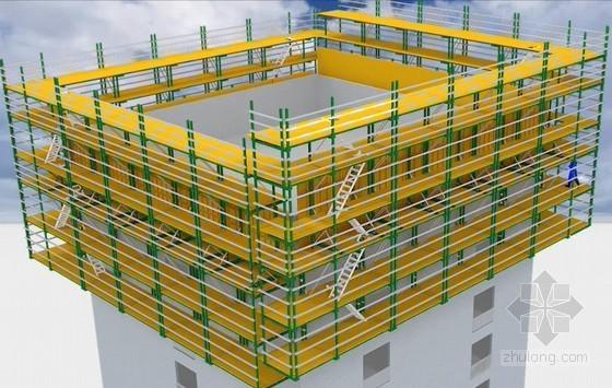 液压自爬模系统安装流程三维动画演示4分钟(附BIM模型)