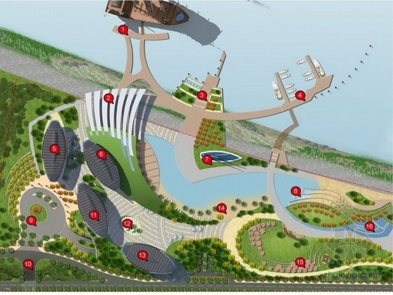 [南京]航海文化遗址公园景观规划设计方案