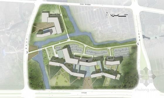 医院概念规划设计方案平面图