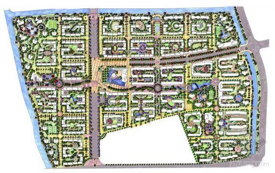 杭州高档小区景观设计方案