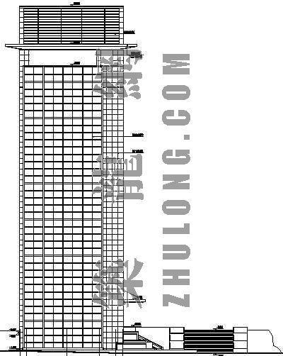 [株洲]某十层研发办公楼建筑施工图-3