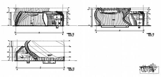 [上海世博会]西班牙馆建筑施工图-