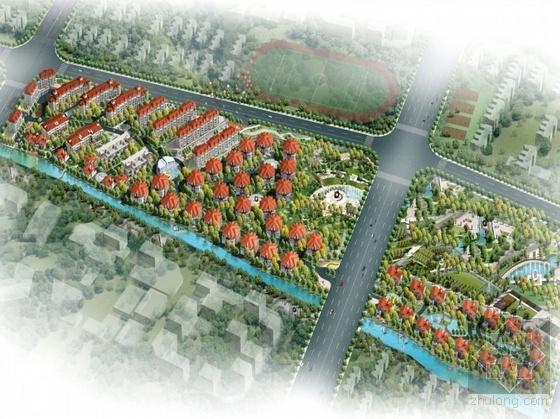 [宁波]某城区居住小区方案设计(含户型图、设计说明)